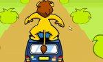 Löwenautodachsurfen