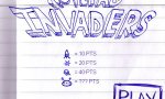 Game : Notepad invaders