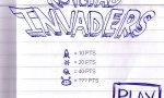 Onlinespiel : Notepad invaders