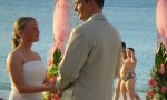 Romantic wedding at the beach