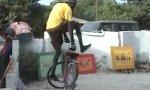 Afrikanischer Fahrradtanz