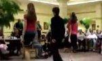 Unerwartete Tanzeinlage