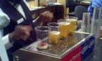 Praktische Bierbefüllung
