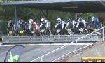 Failstart beim BMX Rennen