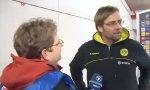 Jürgen Klopp und der Mann vom SWR