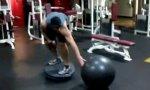 Fitness-Studio: Übungen fürs Gesicht