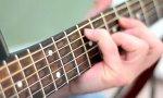 Psychedelische Gitarrensaiten