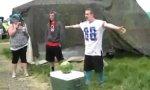 Wassermelonen-Faceplant