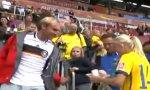Fußball-WM Trikottausch Schweden - Deutschland