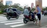 Zebrastreifen in Vietnam