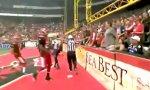 Fan-Einsatz beim Football