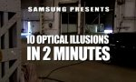 10 optische Illusionen in 2 Minuten