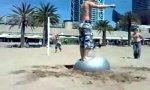 Gymball Sandflip