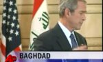 Bush in Bagdad verabschiedet