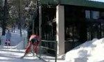 Ski-Rail-Grind-Anfänger