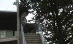 Skate Trick - handrail blooper