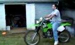 Garten-Motocross