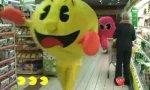 Pac Man im Einkaufscenter