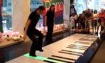 Fuß-Piano