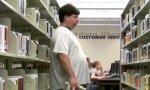 Furzen in der Bibliothek