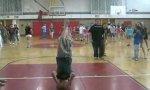 Basketball Frontflip Long Shot Hit