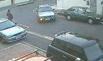Probleme beim Ausparken
