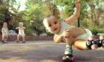 Baby Rollschuh Gang