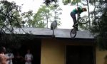 With The BMX Bike Off The Roof