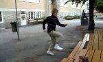 Lustiges Video : Parkour Weltrekord