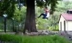 Lustiges Video : Freerun Fails