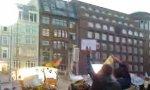 Angela Merkel vs Yeah-Flashmob in Hamburg