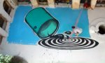 Animiertes Haus-Graffiti