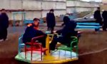 Motorisierter Kinderspielplatz