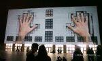 Schöner Häuserwand-Videoeffekt