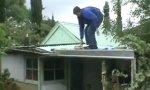 Der Apfel auf dem Dach