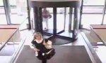 Funny Video - Revolving Door Deconstructor